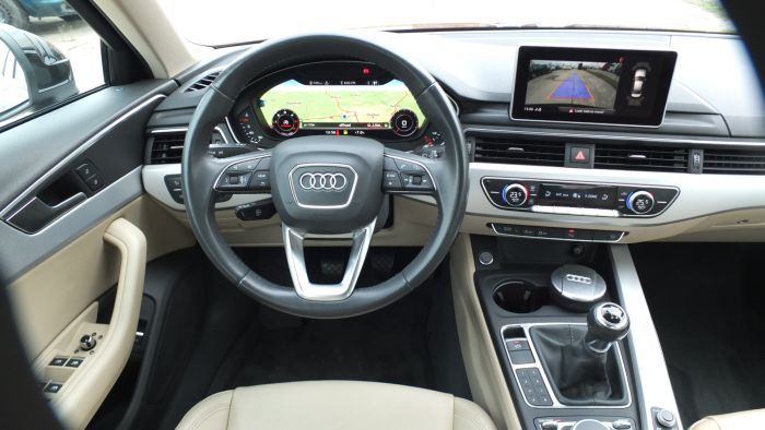Audi A4 2,0 TDI Design VirtCP*LED*Navi+/150 cp